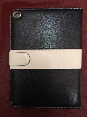 Leather Apple Logo Book Cover Case With In-Pouch For Apple iPad 2 3 4 image 4