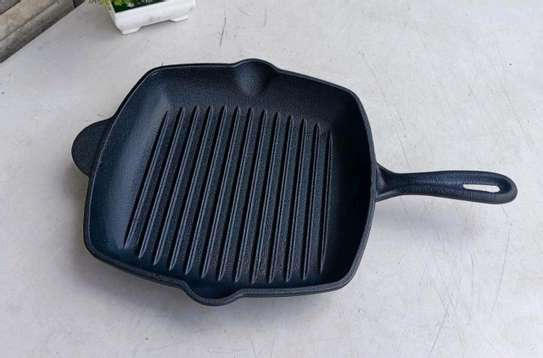 Cast iron grill pan 28cn image 2