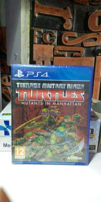 Turtles Teenage Mutant Ninja Ps4 Game