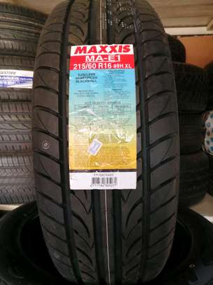 215/60R16 maxxis tyres image 1