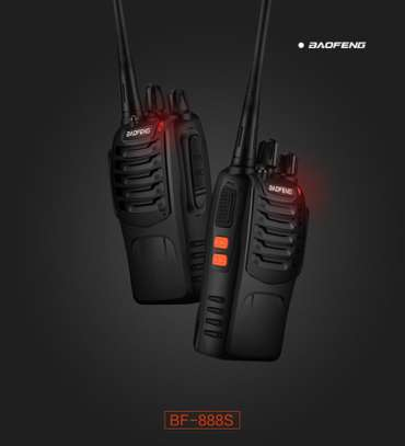 BaoFeng BF-888S Walkie Talkie 2pcs in One Box image 2