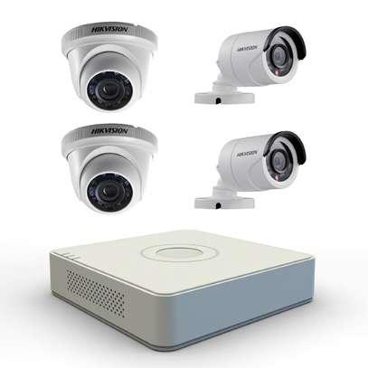 4 CCTV CAMERA FULL SET (Ready for Installation) image 6