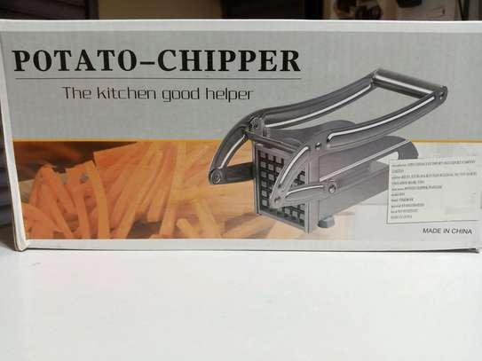 Portable potato chipper image 1