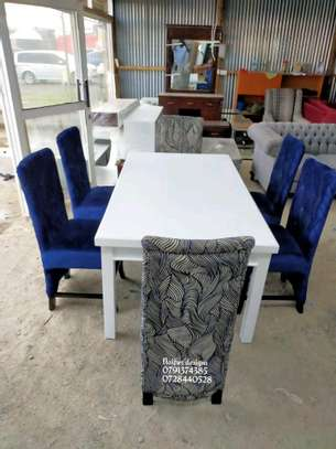 Six seater dining table for sale in Nairobi Kenya/modern dining tables/dining chairs image 1