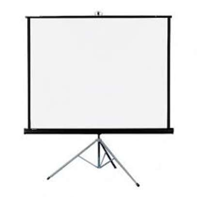 Projector Screen 60X60 Tripod | Wallmount image 1