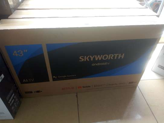 """Sky worth 43"""" smart android TV"""