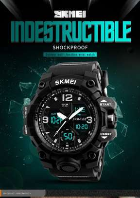 SKMEI Sports Watch Large Display Dual Face 1155 image 3