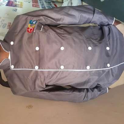 Twill grey overalls image 1