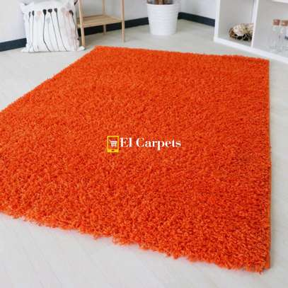 Orange quality carpets image 1
