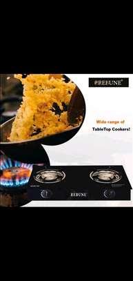 Two burner table top gas cooker image 1