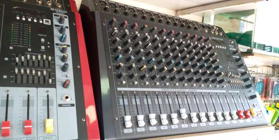 Max 12channel Music Mixer  Black image 1