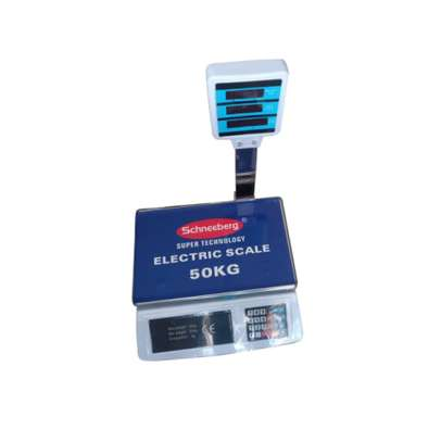 Butchery, cereal shop digital weighing scale 50kg image 1