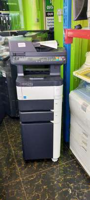 Tested kyocera m3040 dn photocopier machine