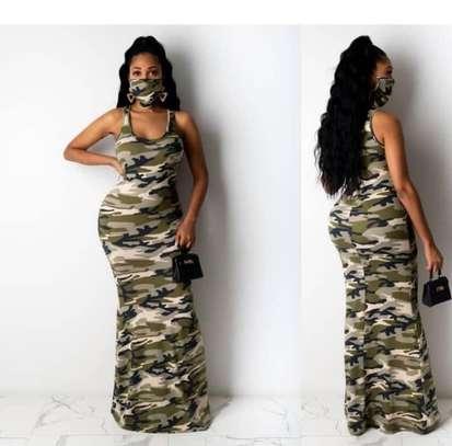 Camouflage dress image 1
