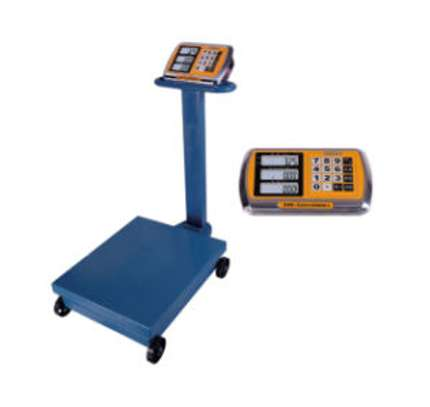 Digital Scale 500 kg, with Wheels image 1