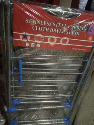 Stainless drying cloth stands image 2