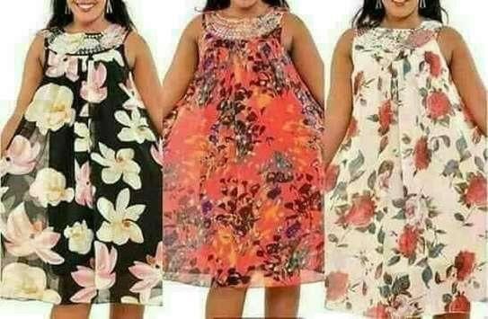 Summer flowered dress image 1