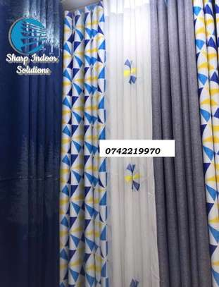 decorative double sided curtains image 7