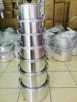 7pcs aluminium sufuria/7pcs sufuria image 1