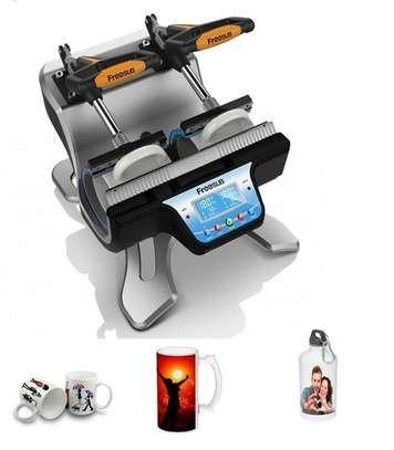 Double Mug Press Heat Machine Sublimation Printe image 1