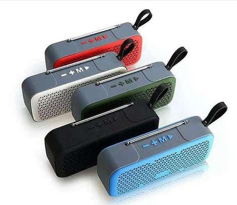 Caston L8 wireless mini Bluetooth speaker with FM image 1