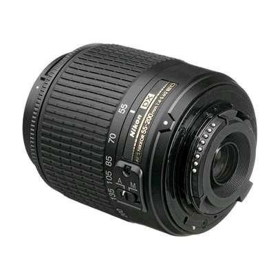 Nikon AF-S DX NIKKOR 55-200mm f/4-5.6G ED VR II Lens Black image 2