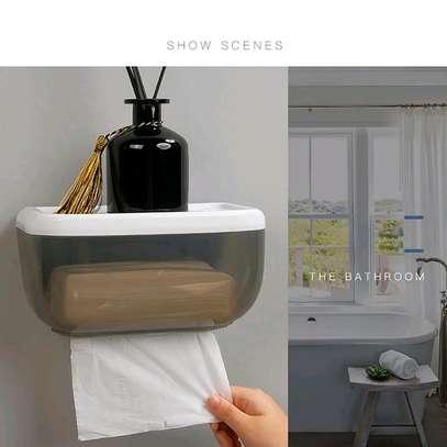 Toilet paper dispenser image 1
