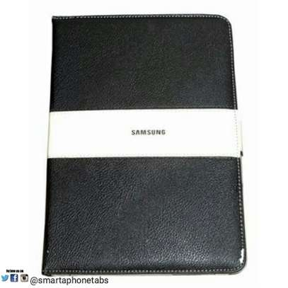 Samsung Logo Leather Book Cover Case With In-Pouch For Samsung Tab A 8.0 inches image 4