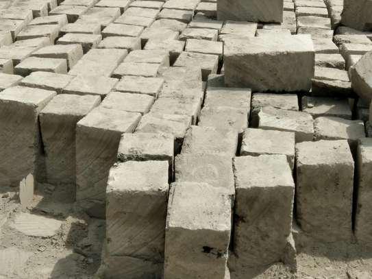 Machine Cut Building Bricks image 1