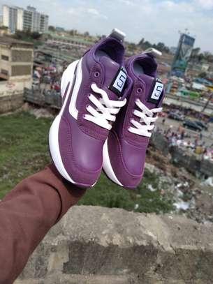 Fancy wedged sneakers image 2