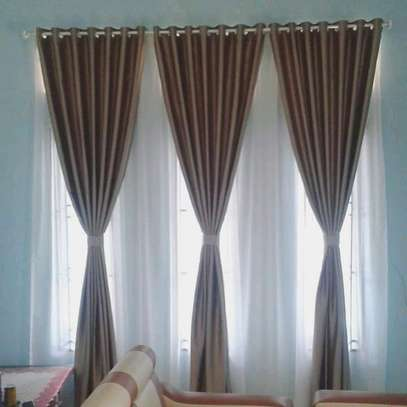 BROWN CURTAINS image 5