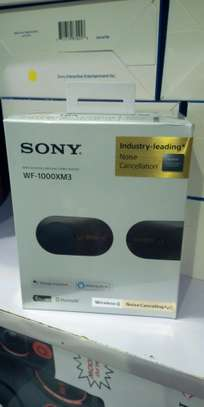 Sony Wireless Noise Canceling Stereo Headset. WF-1000XM3 image 1