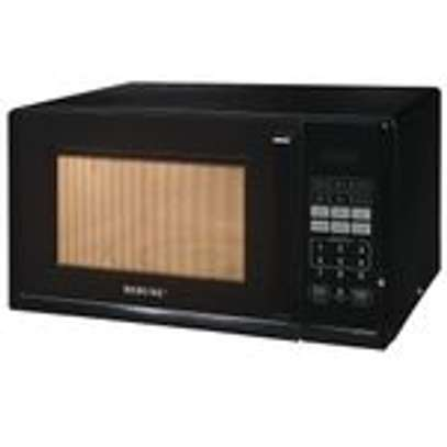 Rebune Microwave Oven, 25L/800W - Black image 1