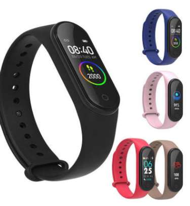 Smart Fitness Watch Bracelet M4 Tracker Band Activity Heart Rate Monitor image 2
