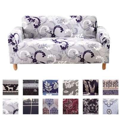 Printed Unique sofa cover image 1