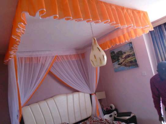 Custom Made Rail Shears Mosquito Nets image 11