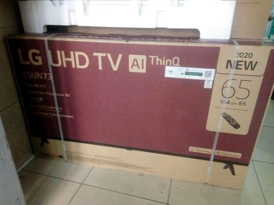 LG 65 UHD 4K TV image 1