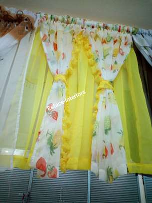 BEAUTIFUL COLOURFUL KITCHEN CURTAINS image 8