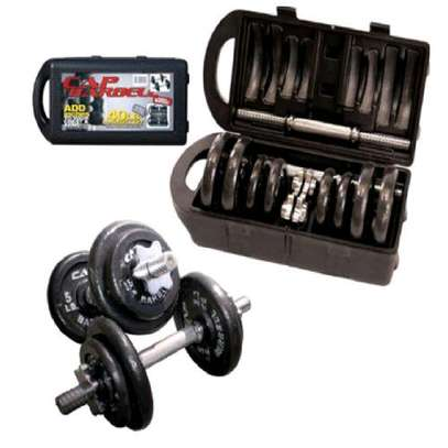 Dumbbell 20kgs with casing image 2