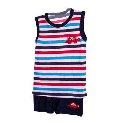 2 piece boy's set(vest and shorts)