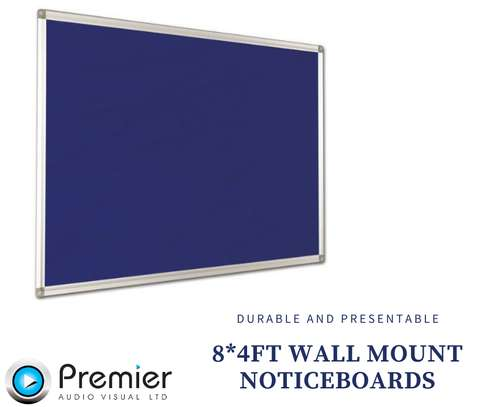 8*4ft wall mount noticeboards image 1