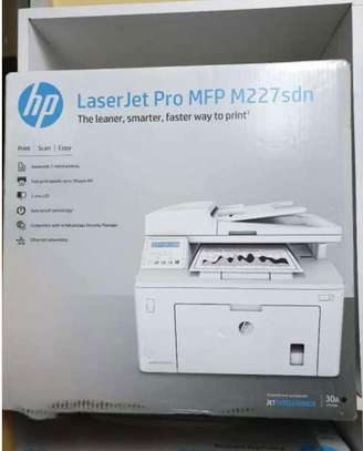 Hp Laserjet Pro Mfp M227sdn (Printer, Copier, Scanner, With Duplex And Network)