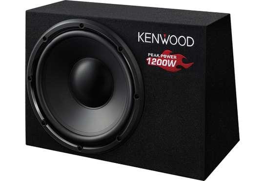 KSC-W1200B Kenwood 30cm/12 Box-Type Passive Sub woofer 1,200w image 1