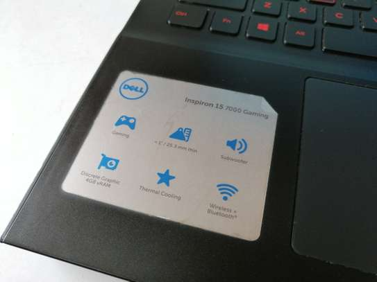 Dell Inspiron 15 7000 Gaming series i7 7th Gen image 3