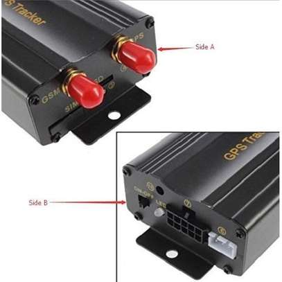 GPS GPRS SMS Real-time Vehicle Tracker TK103 Car Tracker. image 1