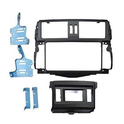 DIN Fascia Dash Stereo Surround for Toyota Prado 150 GXL & VX Model image 1
