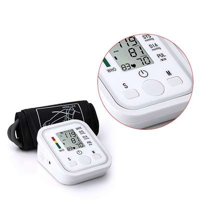 High Blood Pressure Monitor Portable & Household Arm Band Type image 7
