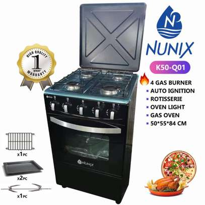 Nunix Free Standing Cooker 4 Gas Oven image 1