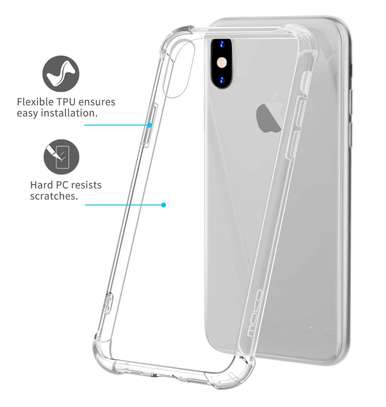 iPhone X/6/6s/6Plus/6sPlus/7/8/7Plus/8Plus Clear Case