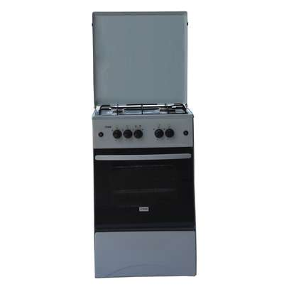 Mika Standing Cooker, 50cm X 50cm, All Gas, Gas oven, Kircili Grey - MST50PIAGKG image 1